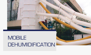 Mobile Dehumidification